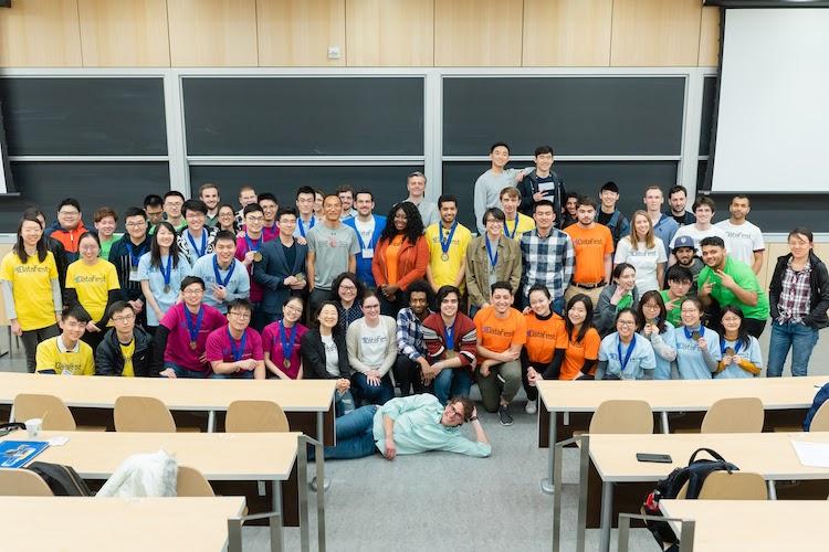 group photo datafest