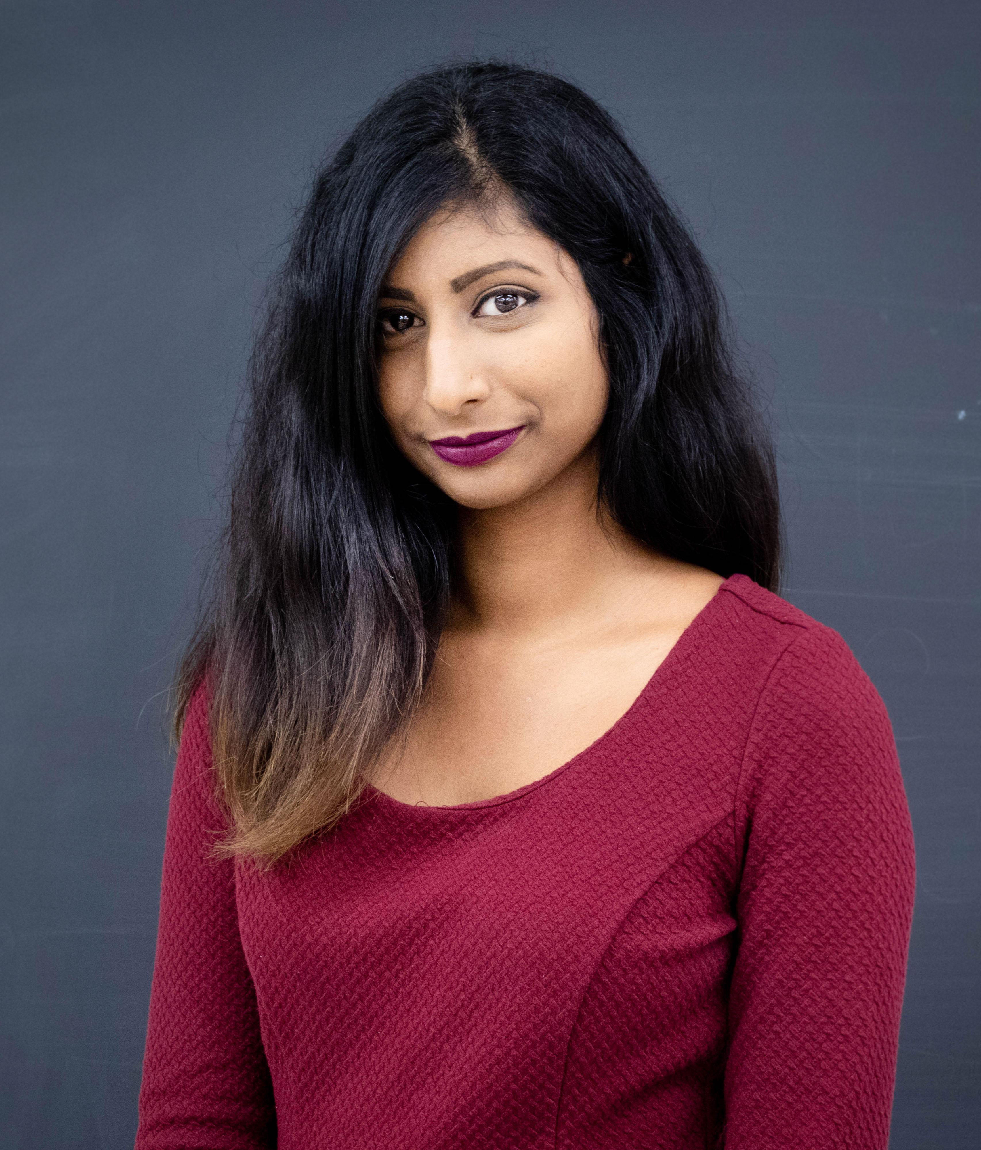 Priya Sivathason headshot profile