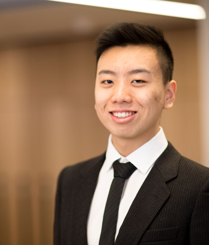 Profile photo of actuarial science alumni Victor Wang