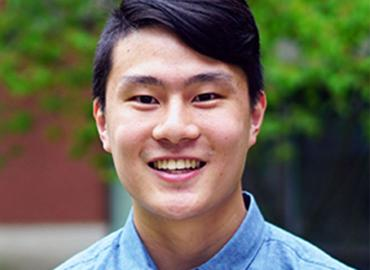 Photo of actuarial science student Ethan Wong