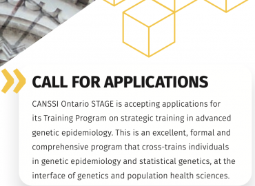 CANSSI Ontario STAGE: Call for Applications poster