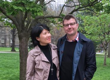 Professors Radu Craiu and Lei Sun